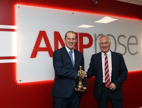 Safety excellence award to AMP Rose